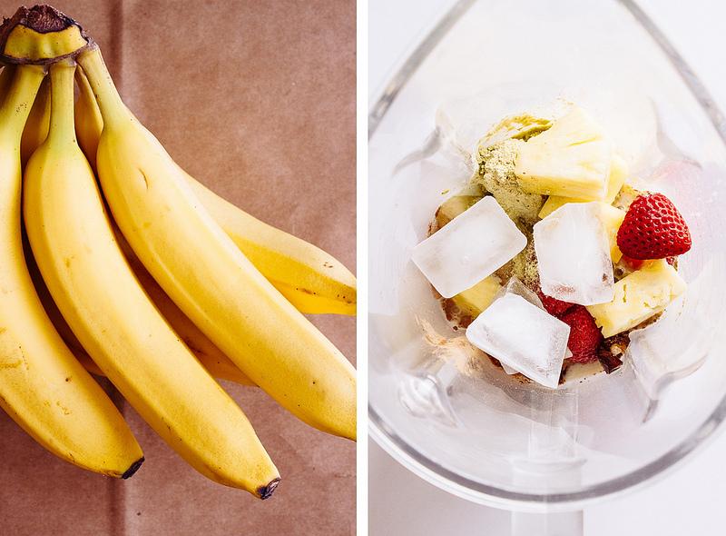 Бананово-Протеиновый Смузи
