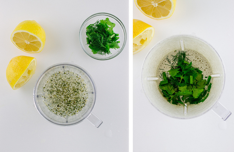 Кремово-Лимонная Заправка из Ядер Конопли