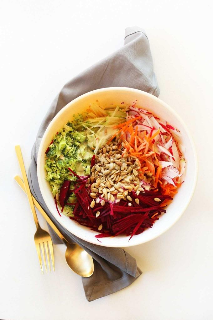 Простой осенний салат