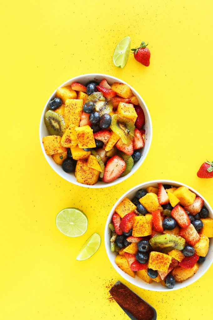 Пряный фруктовый салат