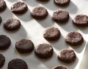 Шоколадное Печенье с Кешью