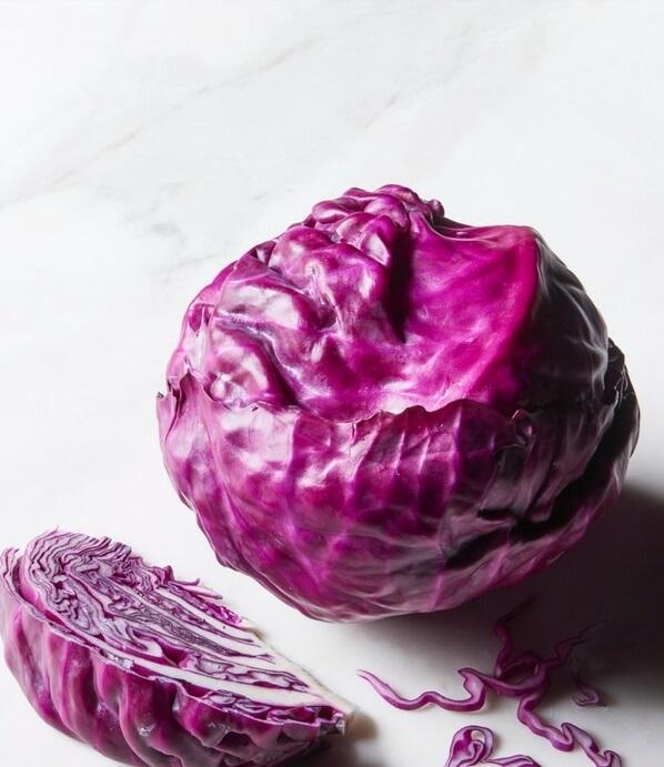 Детокс-Салат из Краснокочанной Капусты