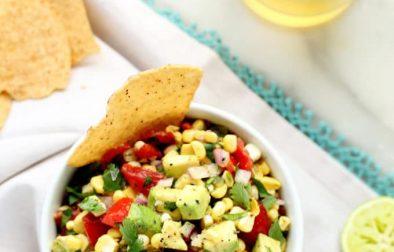 Салат с Кукурузой под Соусом Маринара