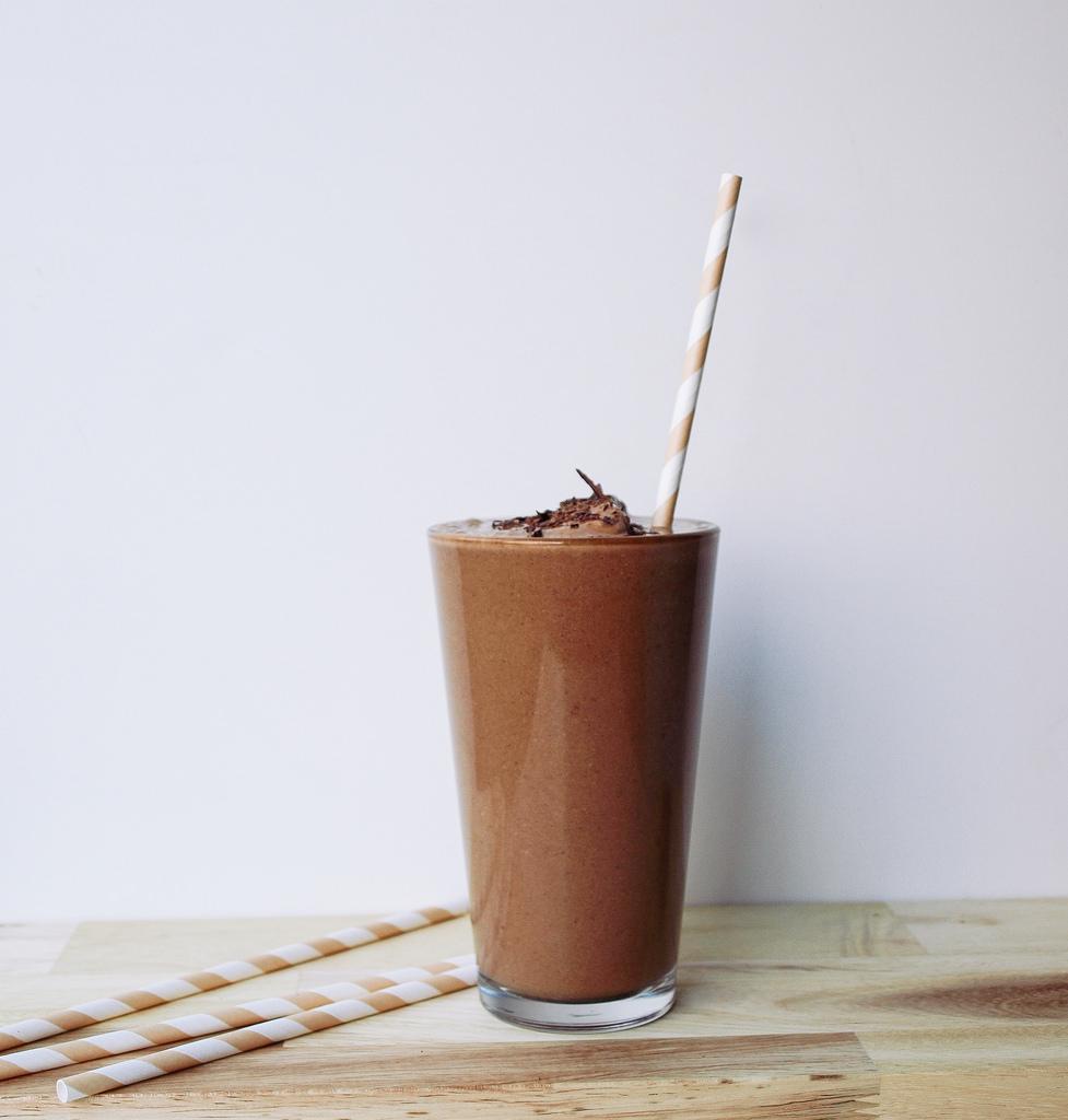 Самый Лучший Шоколадно-Банановый Молочный Коктейль