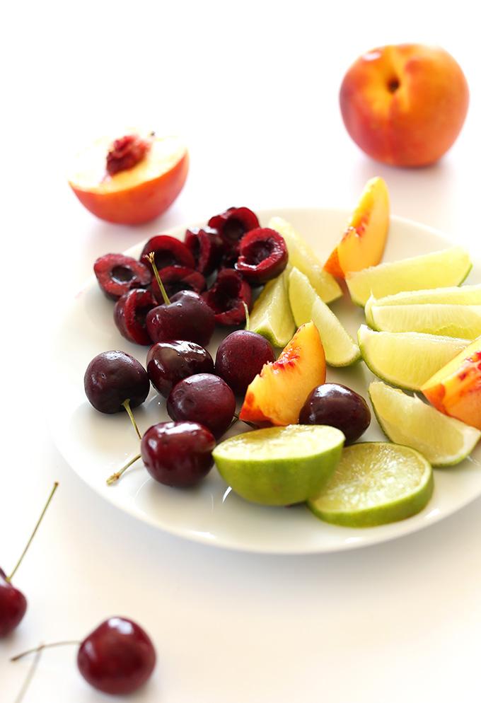 Смузи со вкусом вишневого лаймада