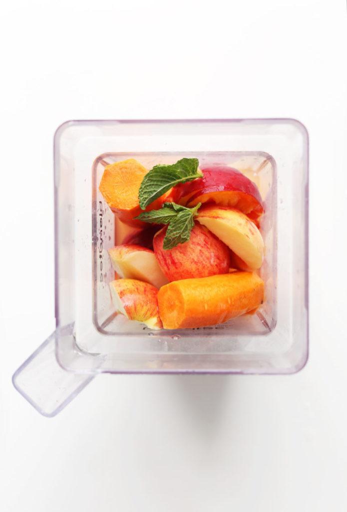 Суперэнергетический Цитрусовый Сок с Морковью