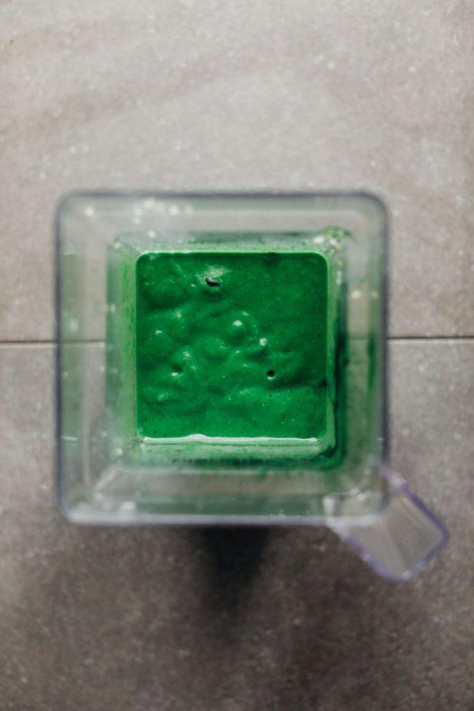 Суперзеленый Смузи на Основе Спирулины