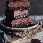 Сыроедческие Пластинки с Шоколадно-Миндальной Помадкой