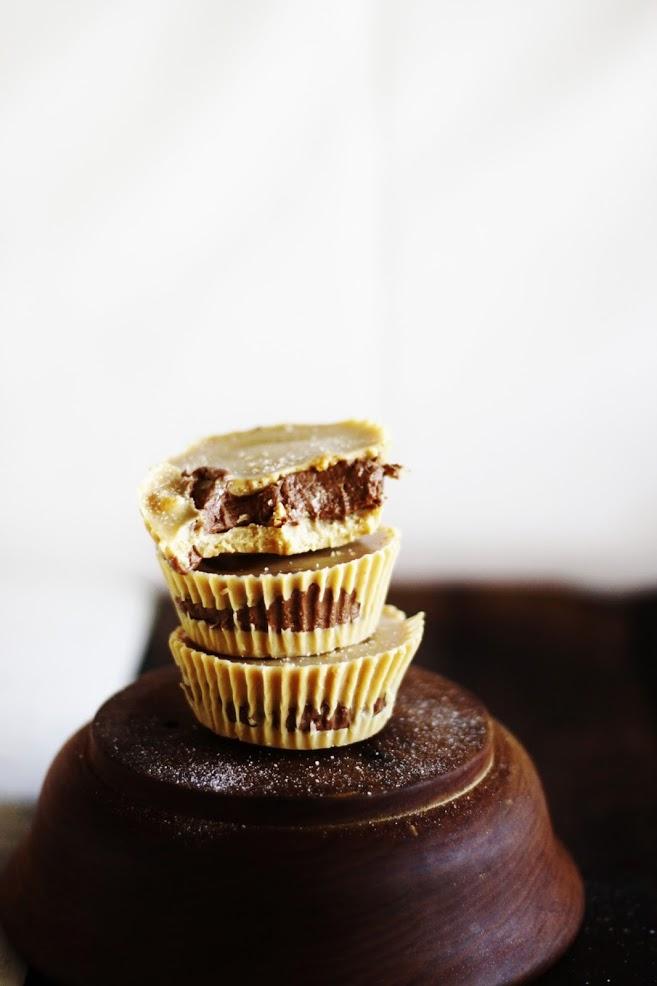 Арахисовые Корзиночки с Шоколадным Кремом
