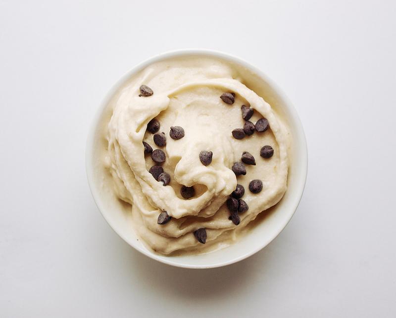 Бананово-Кокосовое Мороженое с Имбирем
