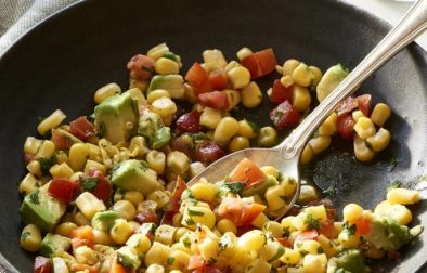 Кукурузный Салат с Лаймом и Перцем