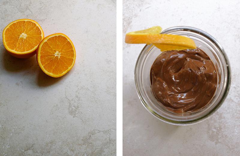 Шоколадно-Апельсиновый Пудинг