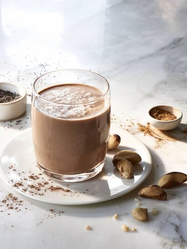 Шоколадный Коктейль из Бразильского Ореха