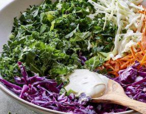Салат из Трех Видов Капусты