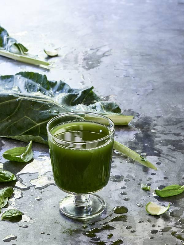 Зеленый Очищающий Сок