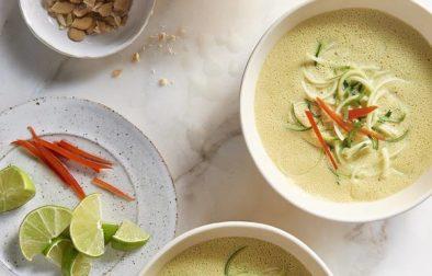 Суп из Кокоса и Карри за 10 Минут