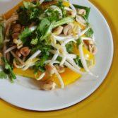 Простой Салат в Духе Тайской Лапши