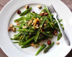 Салат из Зеленой Стручковой Фасоли