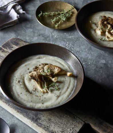 Суп из Вешенок