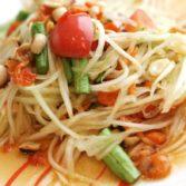 Тайский Салат из Зеленой Папайи