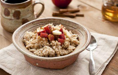 Завтрак из Овса с Корицей и Яблоками