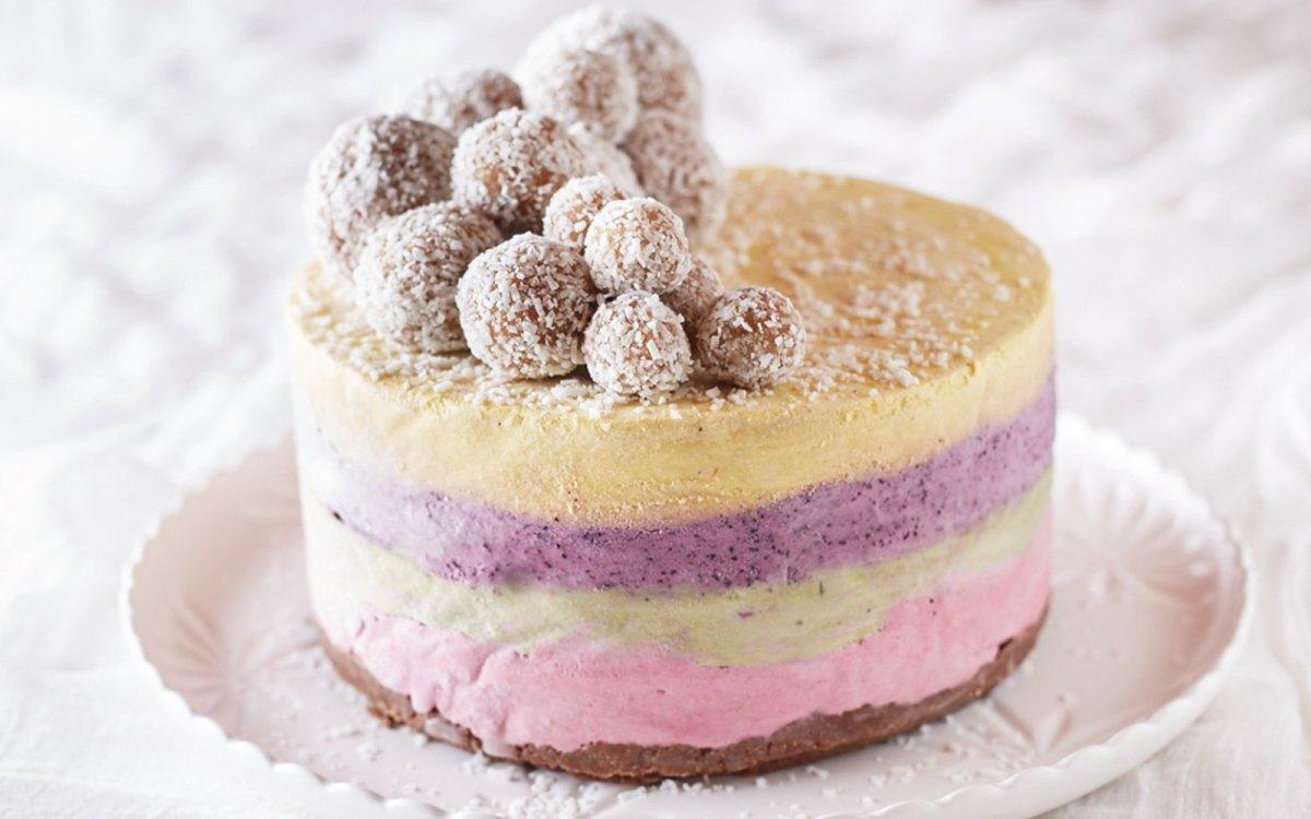 Четырехслойный Торт-Мороженое