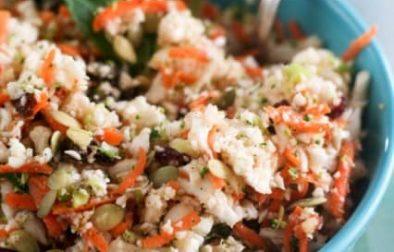 Детокс-Салат из Цветной Капусты