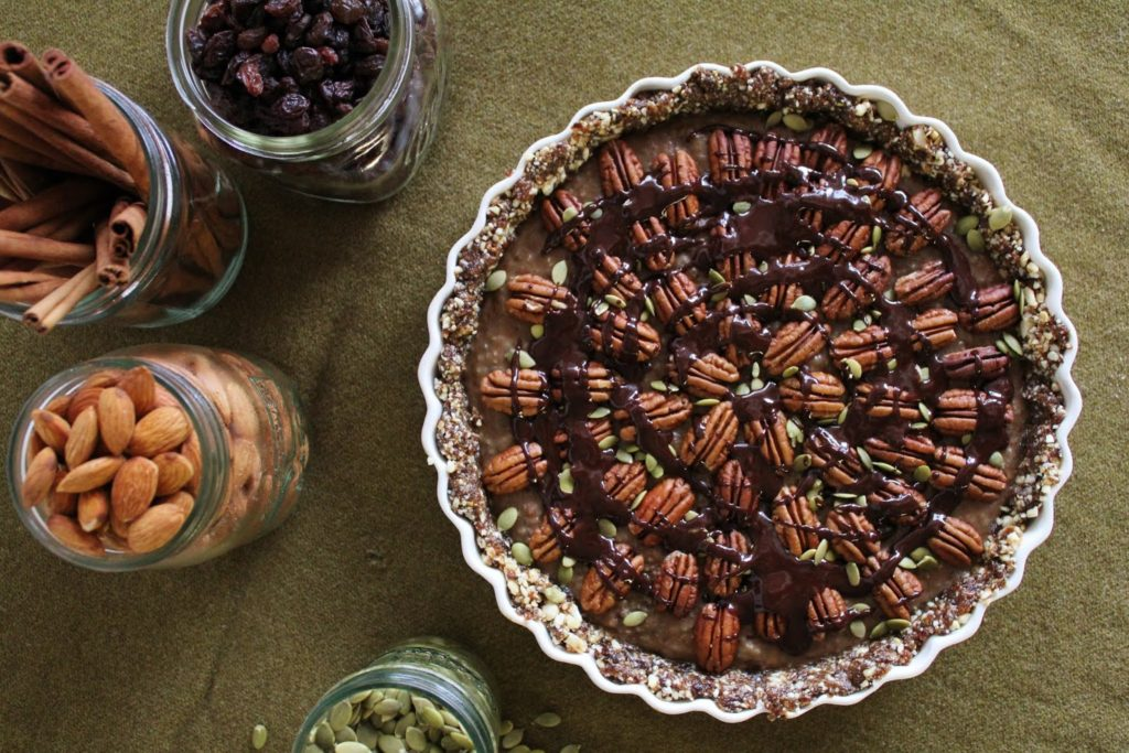 Карамельный Пирог с Шоколадным Соусом