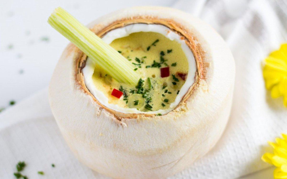 Пряный Тайский Суп