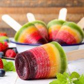 Радужное Фруктовое Мороженое