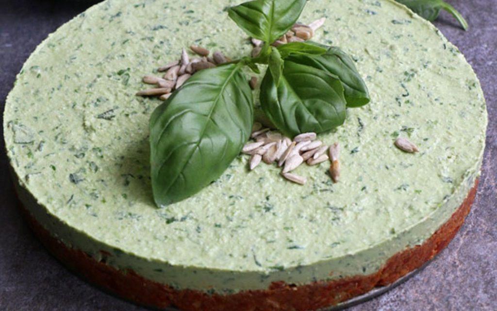 Торт-Суфле из Шпината