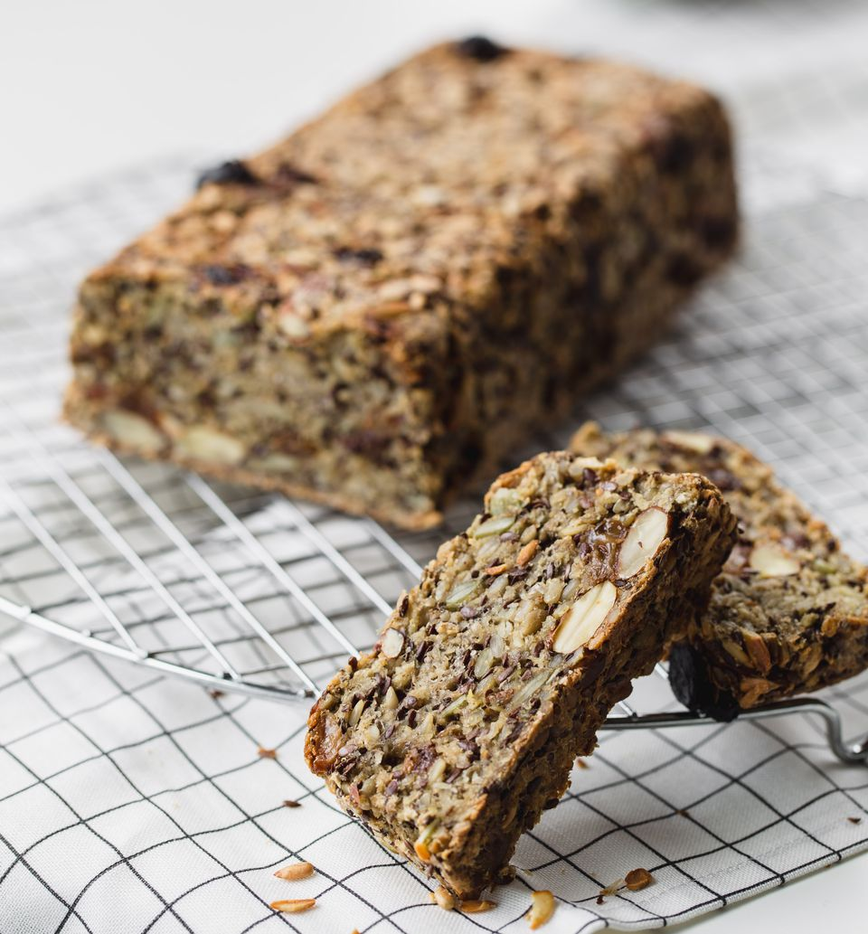 Сыроедческий Хлеб из Семян Льна