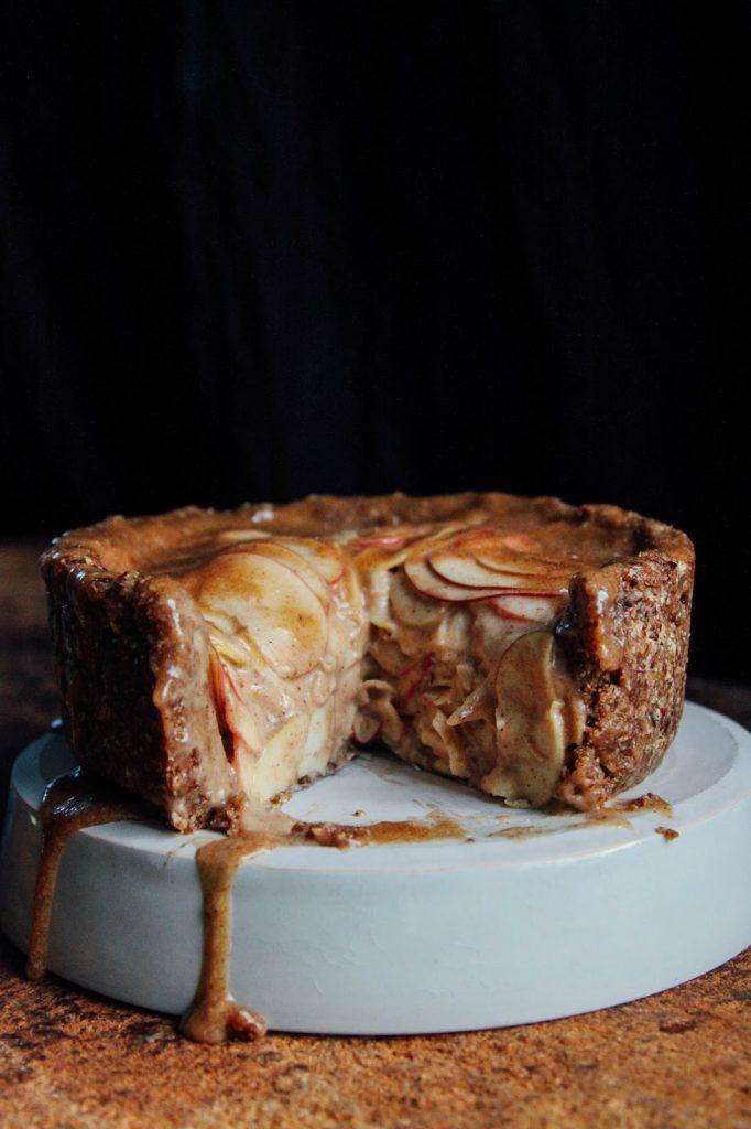 Высокий Яблочный Пирог