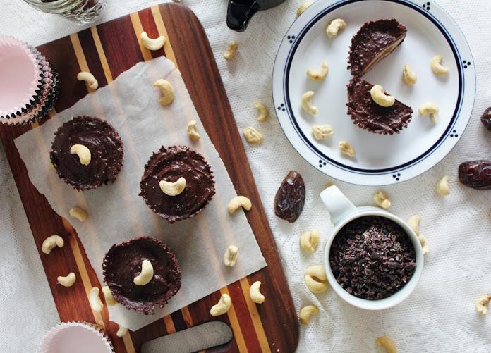 Шоколадно-Кунжутные Карамельные Корзинки