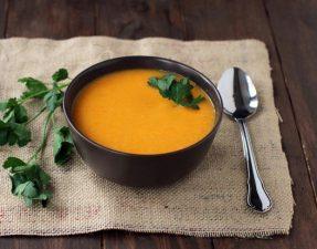 Имбирно-Морковный Суп с Кокосом