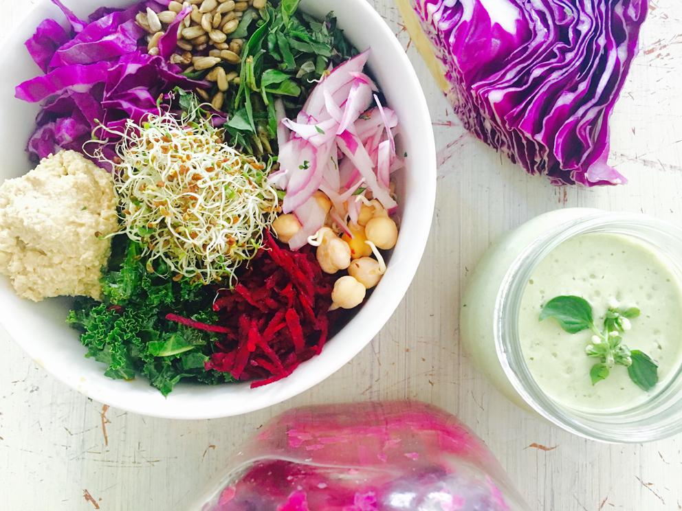 Пурпурный Овощной Сет