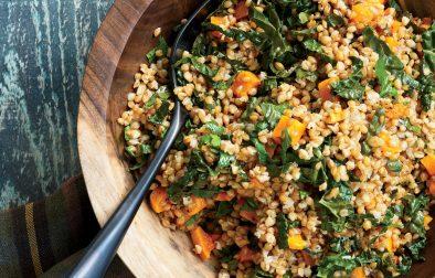 Салат из Прорщенной Пшеницы