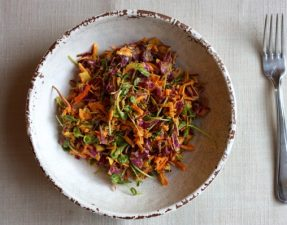 Салат с Куркумой + Заправка с Куркумой