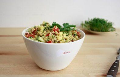 Салат с Кускусом из Цветной Капусты