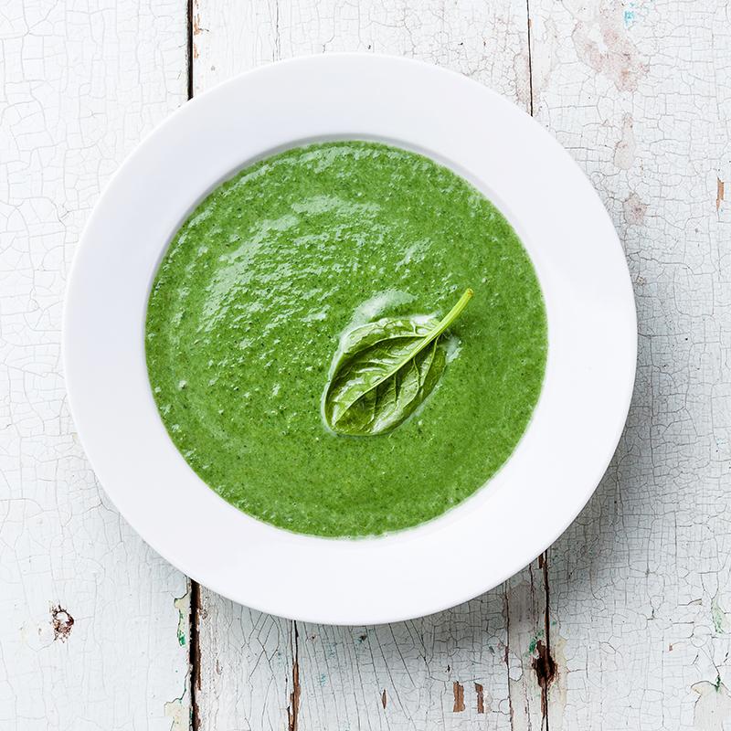 Суп из Шпината и Цукини