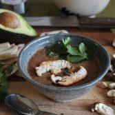 Суп из Грибов и Авокадо