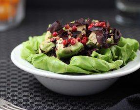 Салат из Авокадо и Красных Водорослей