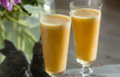 Сыроедческий Кремово-Апельсиновый Смузи