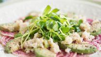 Сыроедческий Салат из Свеклы и Авокадо