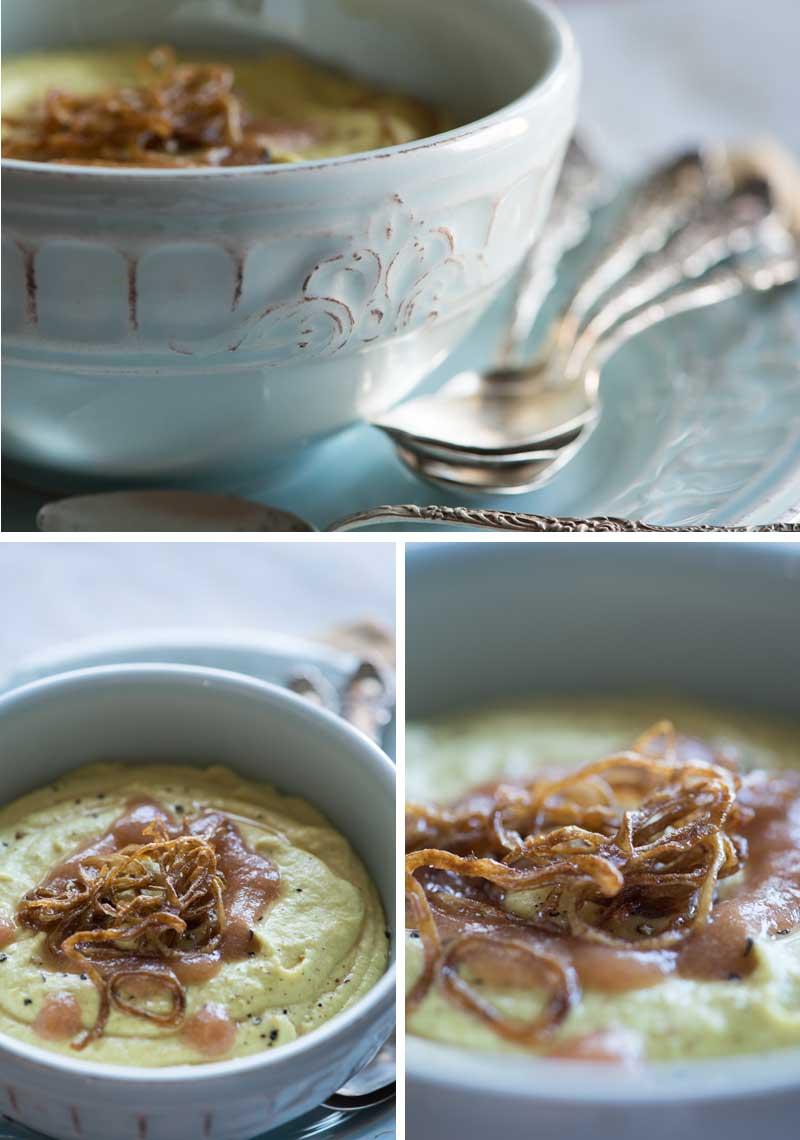 Сыроедческий Суп-Карри из Цветной Капусты