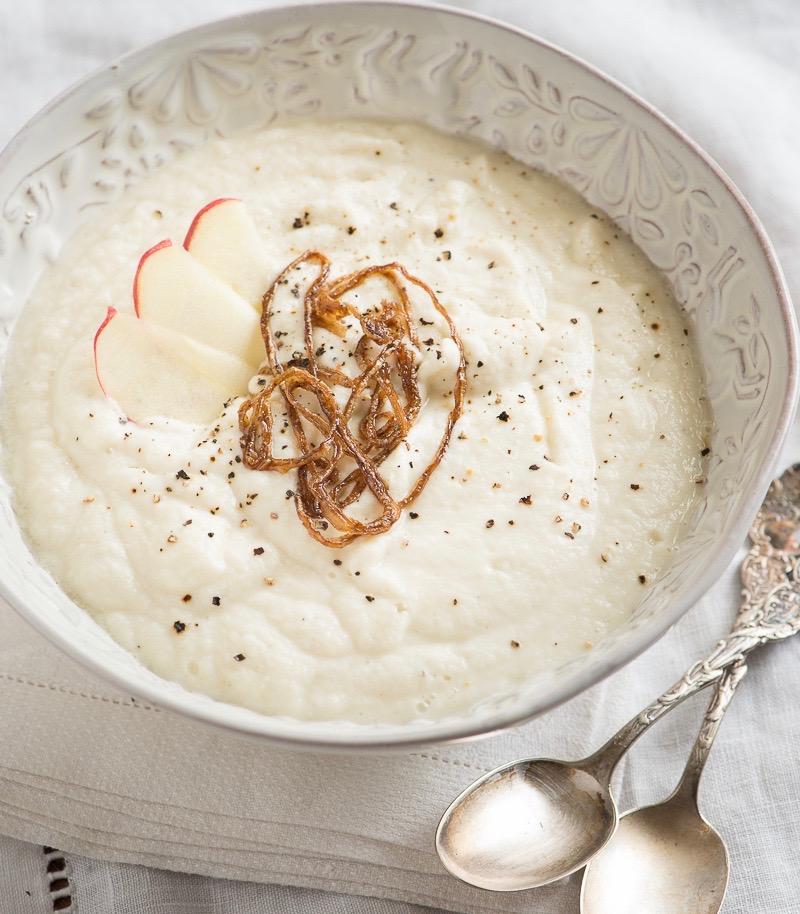 Сыроедческий Яблочно-Капустный Суп