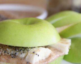 Сыроедческая Бананово-Яблочная Закуска