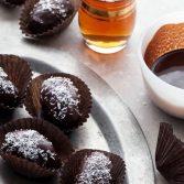 Сыроедческие Финики с Начинкой в Шоколаде
