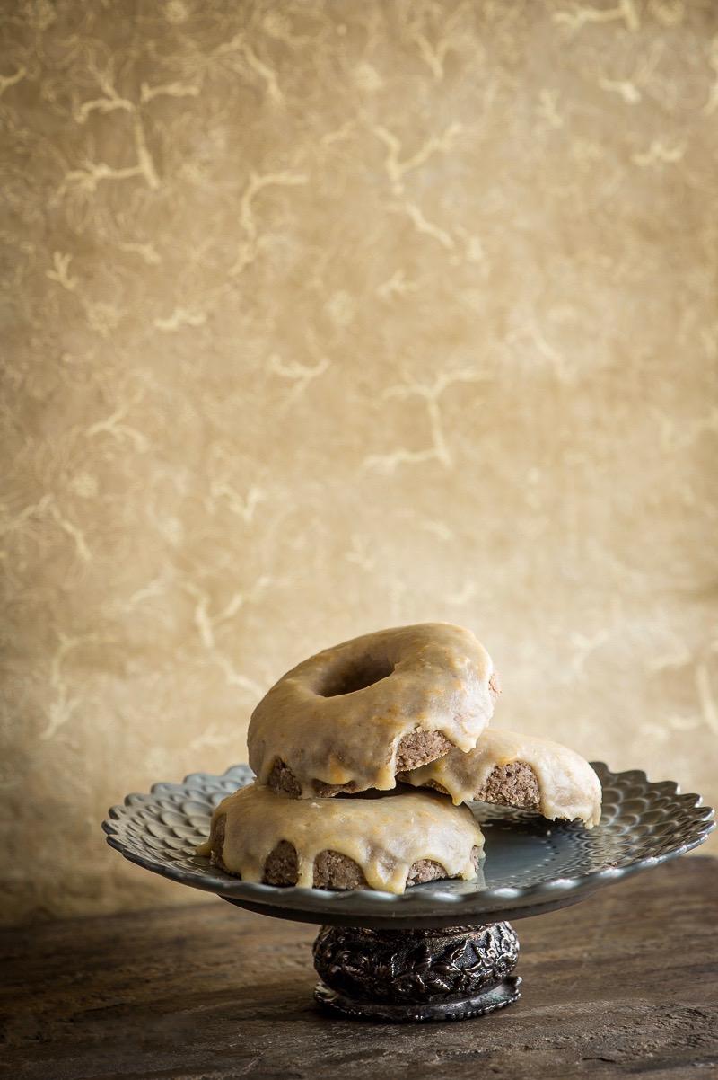 Сыроедческие Глазированные Пончики