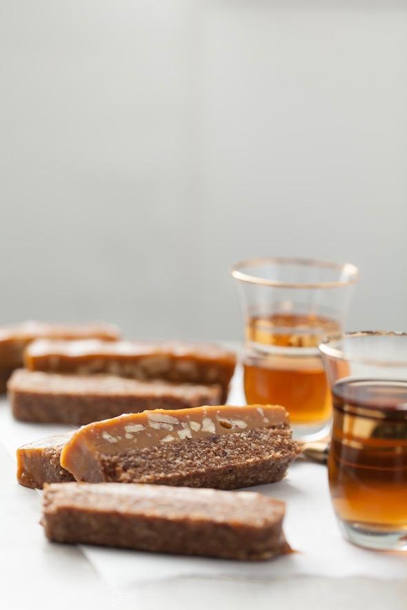 Сыроедческие Кокосово-Карамельные Батончики